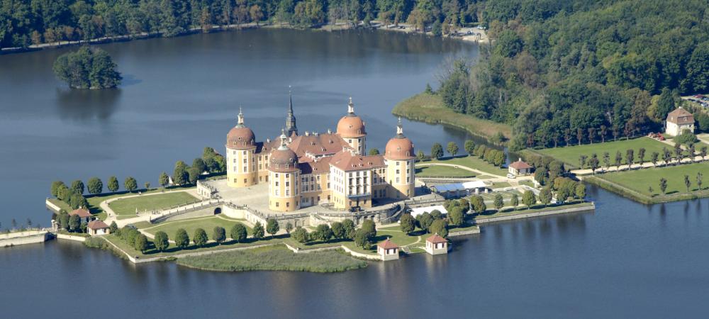Hunting castle - Churfuerstliche Waldschaenke Moritzburg