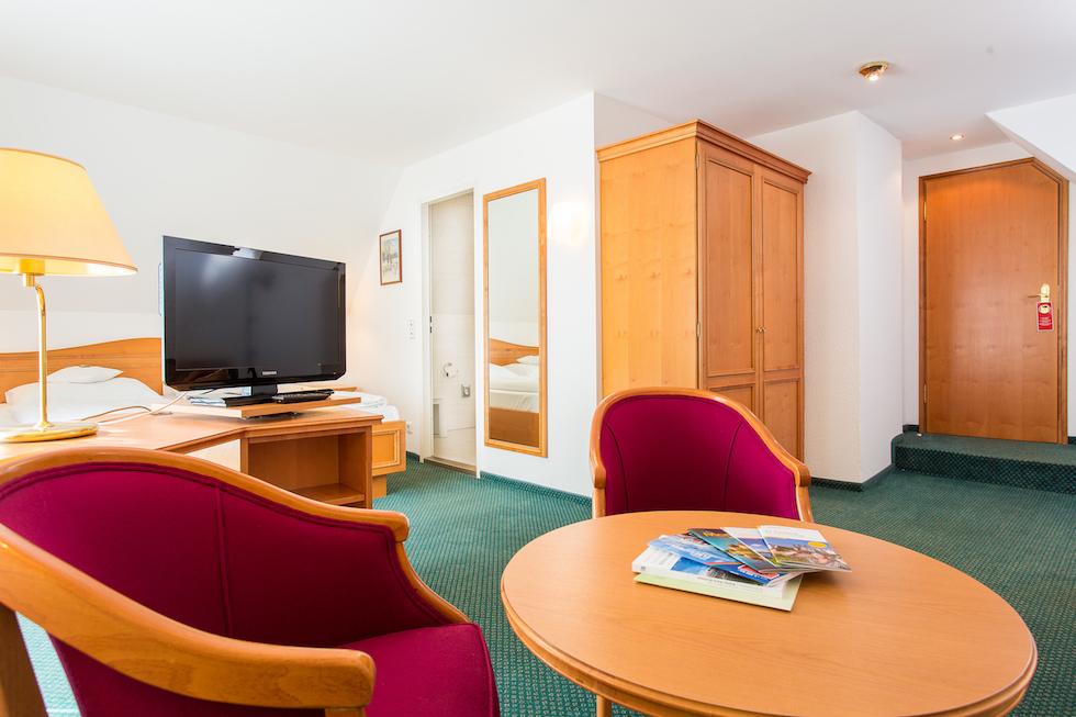 Details of hotel rooms - Churfuerstliche Waldschaenke Moritzburg