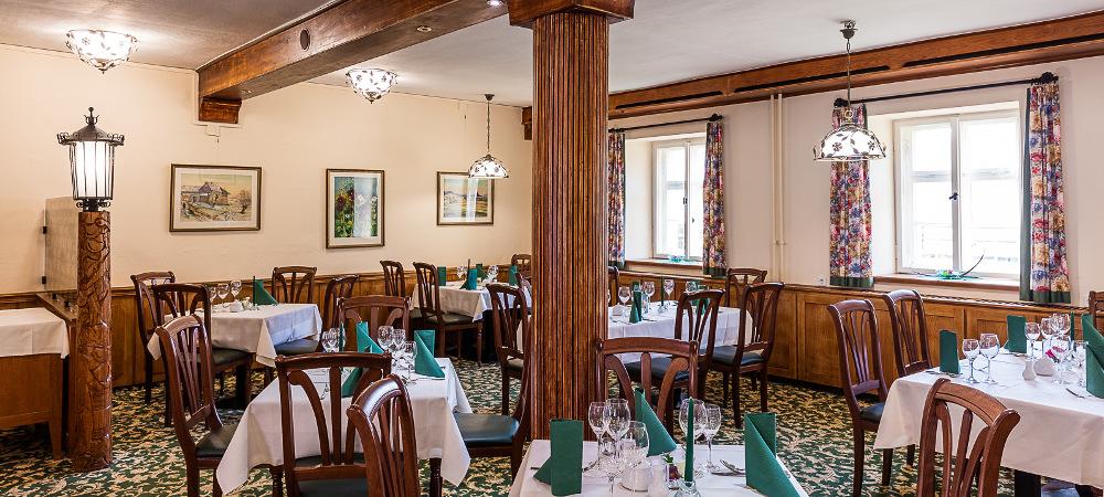 Grünes Zimmer (Green Salon) - Churfuerstliche Waldschaenke Moritzburg